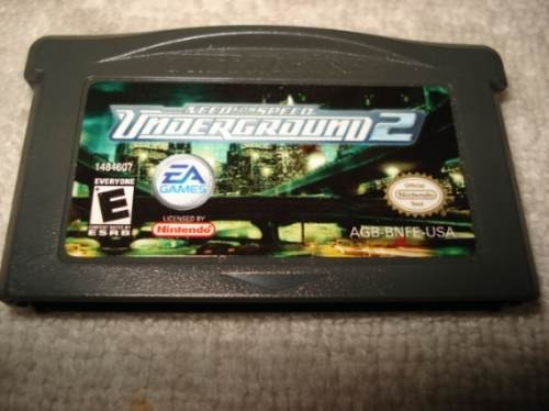 Game Para Game Boy Advance Gba Need For Speed Underground 2