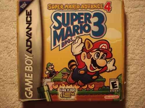 Game Para Game Boy Advance Super Mario Bross Advance 4 Novo