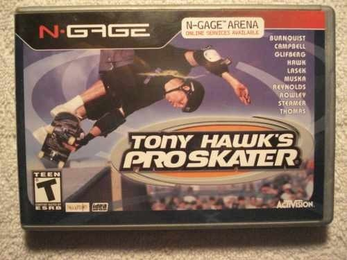 Game N Gage Tony Hawk's Pró Skater Original Novo
