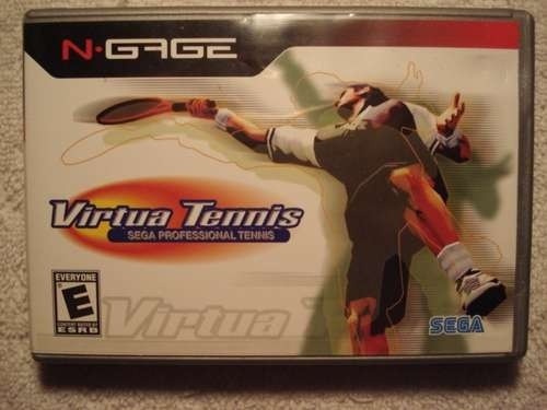 Game N Gage Virtua Tennis Original Novo