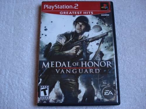 Game Playstation 2 Medal Of Honnor Vanguard Novo Original