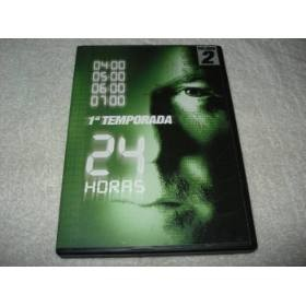 DVD 24 HORAS PRIMEIRA TEMPORADA VOLUME 2 EPISODIOS 5 A 8 + AUDIO EM PORTUGUES