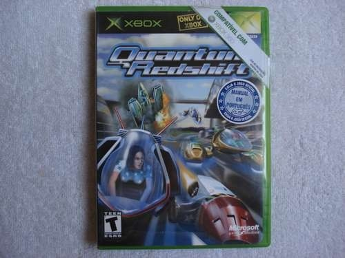 Game Xbox 360 Quantun Red Shift Original Novo