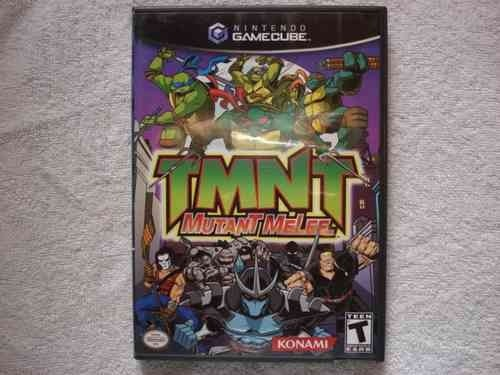 Game Nintendo Gamecube Wii Tmnt Mutant Melee Novo Original