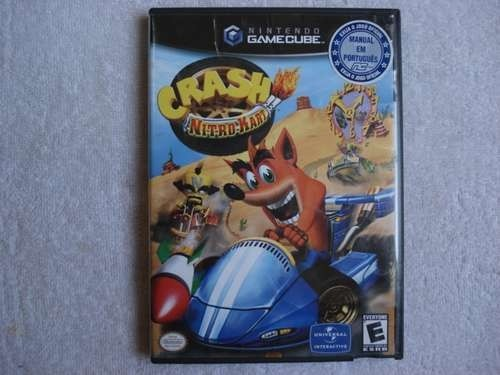 Game Nintendo Gamecube Wii Crash Nitro Kart Original Novo