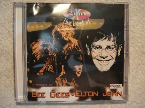 Cd A Tribute To Bee Gees E Elton John Original Lacrado
