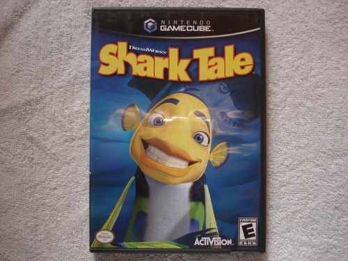 Game Nintendo Gamecube Wii Shark Tale Novo Original