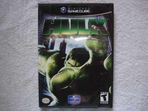 Game Nintendo Gamecube Wii Hulk Novo Original