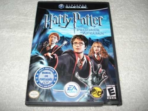 Game Nintendo Gamecube Wii Harry Potter Prisioner Azkaban
