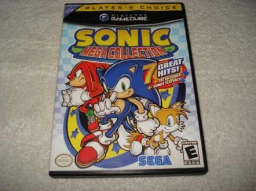 Game Nintendo Gamecube Wii Sonic Mega Collection