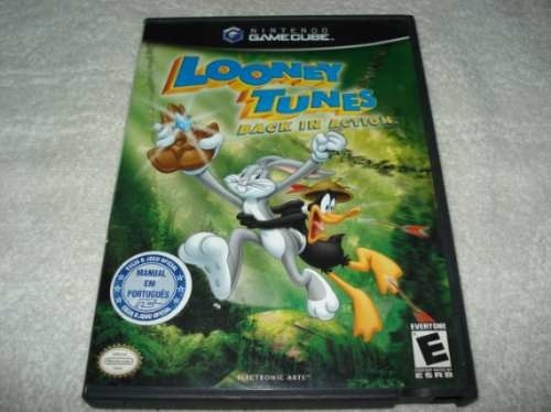 Game Nintendo Gamecube Wii Looney Tunes Back In Action