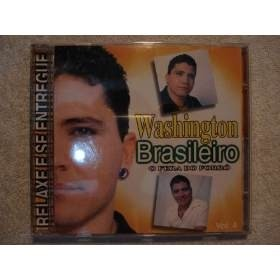 Cd Washington Brasileiro O Fera Do Forro Volume 4 Lacrado