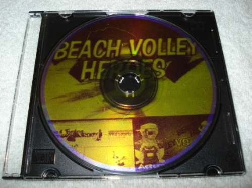Game Playstation 1 One Beach Volley Heroes
