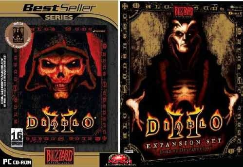 Game Pc Diablo 2 + Expansão Lord Of Destruction Lacrado