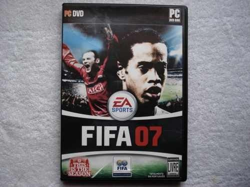 Game Para Pc Fifa 2007 Pc-dvd Original Novo