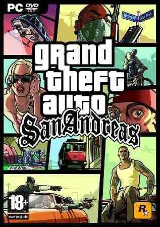 GAME PC GRAND THEFT AUTO GTA SAN ANDREAS