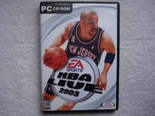 Game Para Pc Nba Live 2003 Original Novo