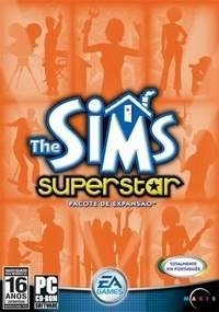 Game Pc The Sims Superstar Pc-cd Original Novo Lacrado