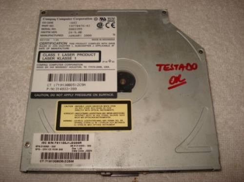 Drive Cd Rom Notebook Compaq Dell Modelo Cd-224e