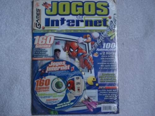 Game Revista Top Games Cd Jogos De Internet Original