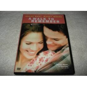 Dvd A Walk To Remember Com Mandy Moore Novo Original Lacrado