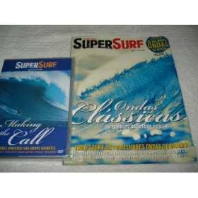 Revista Super Surf As Melhores Ondas + Dvd Making Call Novo