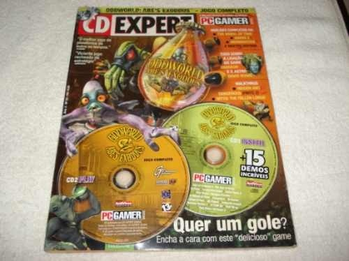 Revista Cd Expert Game Odd World Abe's Exoddus