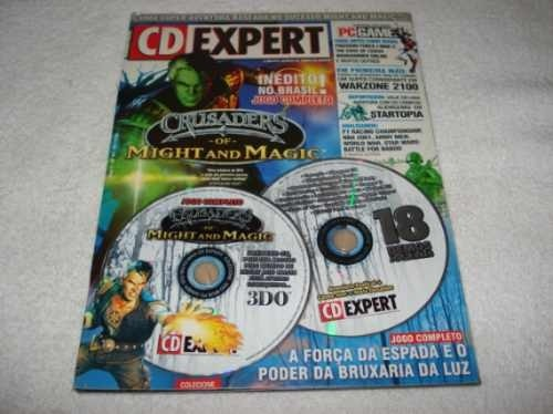Revista Cd Revista Cd Expert Game Crusaders Of Might And Magic