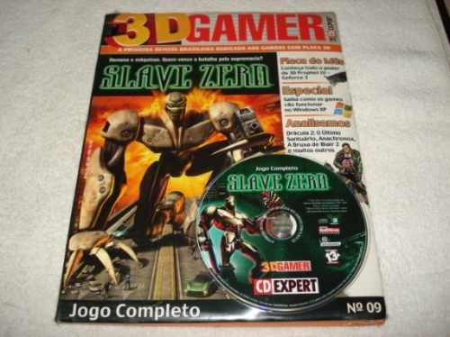 Revista Cd Expert Game Slave Zero Completo