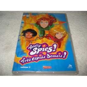 Dvd Totally Spies Três Espiãs Demais Vol. 3 Original Lacrado