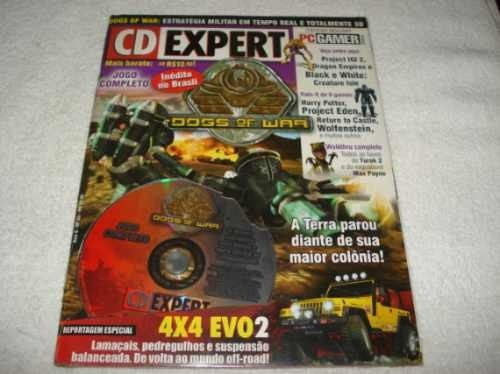 Revista Cd Expert Game Dogs Of War Completo