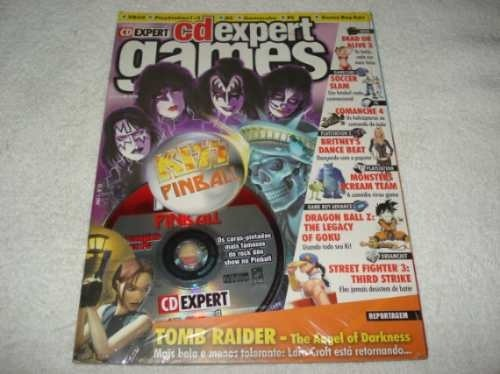 Revista Cd Expert Game Kiss Pinball Completo