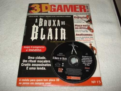 Revista Cd Expert Game A Bruxa De Blair Volume 1 Rustin Parr