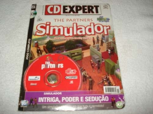 Revista Cd Expert Game Simulador The Partners