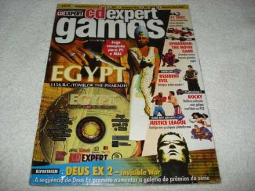 Revista Cd Expert Game Egypt 1156 B.c. Tomb Of The Pharaoh