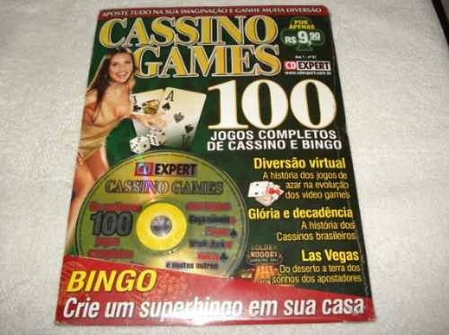 Revista Cd Expert Game Cassino Games 100 Jogos
