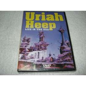Dvd Uriah Heep Live In The Usa Original