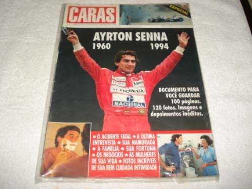 Ayrton Senna Revista Caras Maio/94 Documento Para Guardar