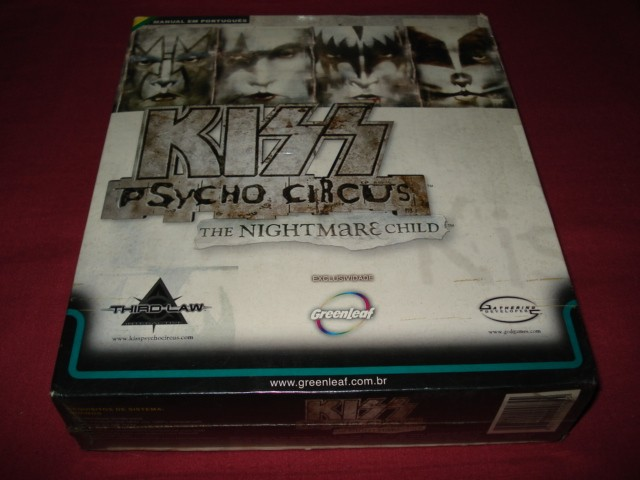 GAME PC KISS PSYCHO CIRCUS THE NIGHTMARE CHILD