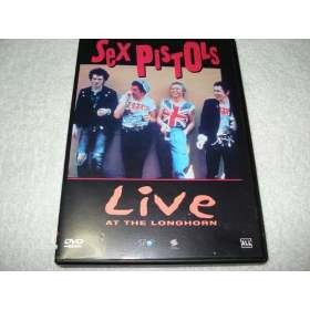 Dvd Sex Pistols Live At The Longhorn Original