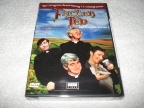 Dvd Importado Usa Região 1 Father Ted Complete Series 1