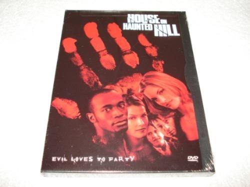 Dvd Importado Usa Região 1 House On Haunted Hill Evil Loves