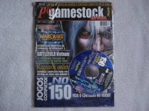 Game Revista Pc Gamestock Cd Jogos Completos Original