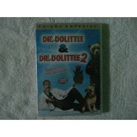 Dvd Duplo Dr. Dolittle E Dr. Dolittle 2 Original