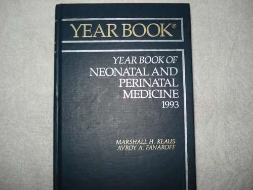 Livro Year Book Of Neonatal And Perinatal Medicine Klaus 93