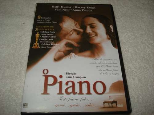 Dvd O Piano Com Holly Hunter Original