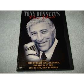 Dvd Tony Bennett's New York Original