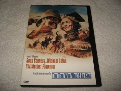 Dvd Importado Usa Região 1 The Man Who Would Be King