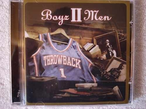 Cd Boys Ii Men Throwback Original