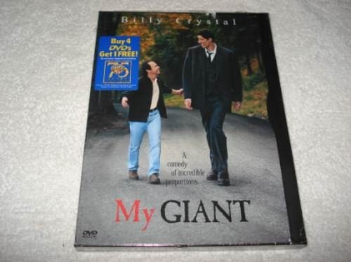 Dvd Importado Usa Região 1 My Giant Com Billy Crystal